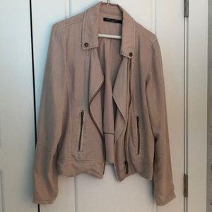 Blush color Jean jacket